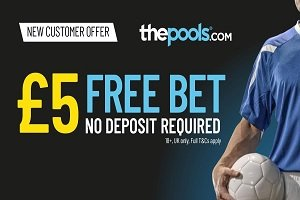 The Pools No Deposit Sports Bet