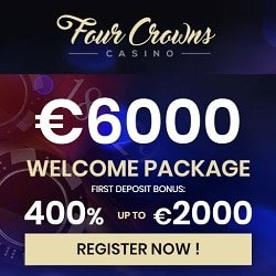 new player offer at 4crowns casino