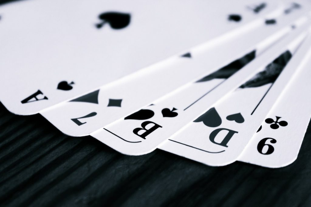 playing cards for poker