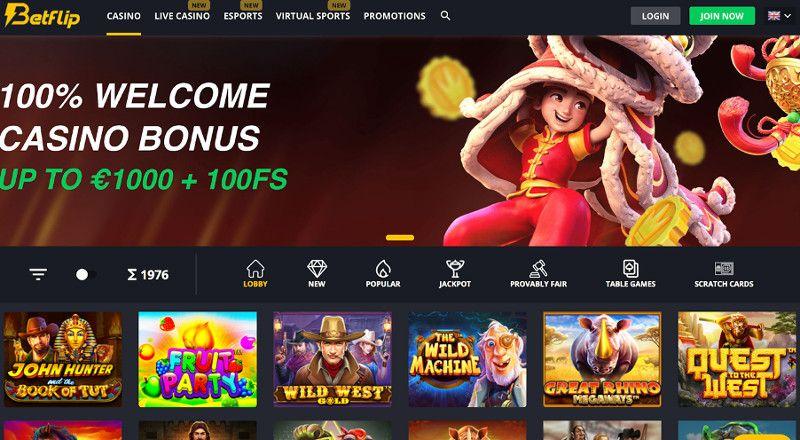 betflip online casino review